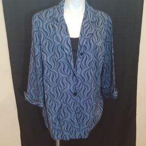 DRESSBARN pullover blouse as is